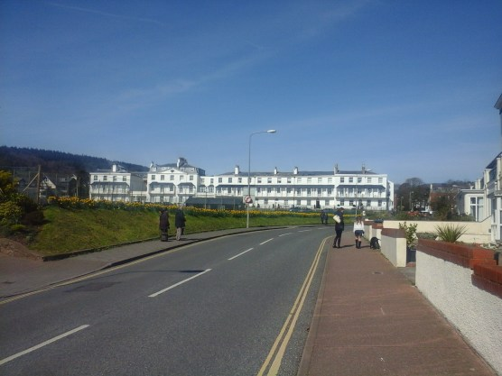 Outside of Exeter, I think Sidmouth is probably the place I have visited most