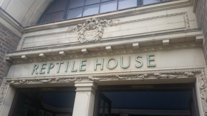 The Reptile House the was used for filming in Harry Potter and the Philosophers Stone