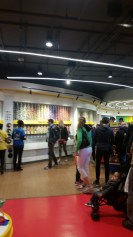 Wall of M&Ms and M&M World