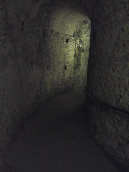 Spooky under ground passages