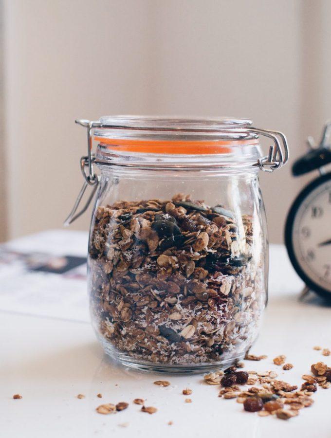 The basic granola recipe