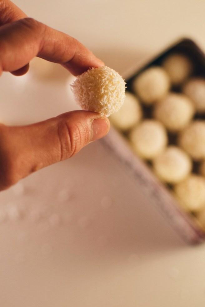 Sweetened Condensed Milk Truffles