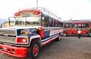 Chiken Bus en Antigua