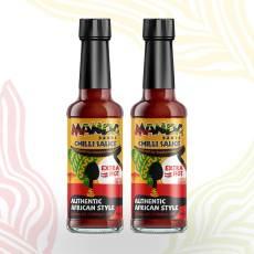Manda Sauce – Extra Hot Chilli Sauce