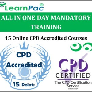 All In One Day Mandatory Training – 15 Online CPD Accredited & CQC Aligned Courses - MTG