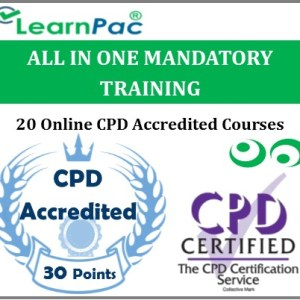 All in One Mandatory Training - 20 CPD Accredited & UK CSTF Aligned E-Learning Courses - MTG