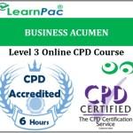 Business Acumen – Online Training & Certification