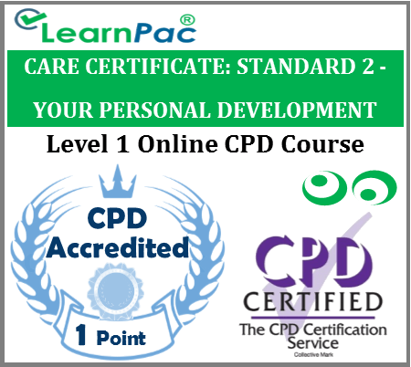 Care Certificate Standard 2 - Your Personal Development Online Training Course