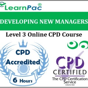 Developing New Managers – Online Training & Certification