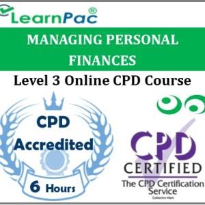 Managing Personal Finances – Online Training & Certification