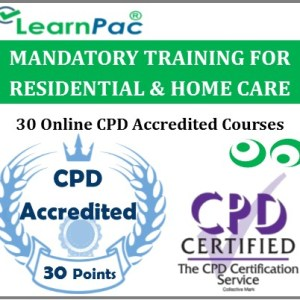 Mandatory Training For Residential & Home Care Staff - 30 CPD Accredited Online Courses - MTG