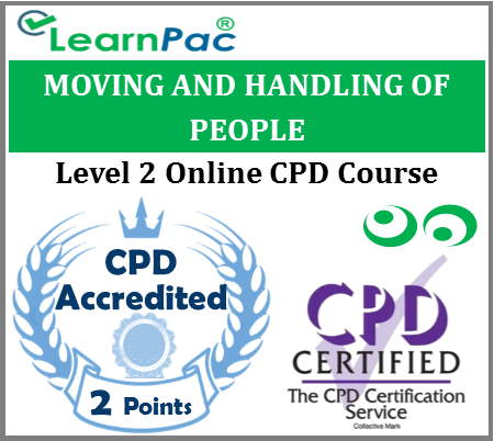 Moving and Handling People - Level 2 - Online CPD Accredited Training Course