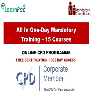 All In One-Day Mandatory Training – 15 Courses - Mandatory Training Group UK -