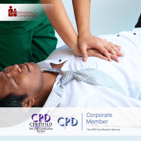 CSTF Resuscitation – Adult Basic Life Support – Online Training Course – CPD Accredited – Mandatory Compliance UK –