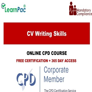 CV Writing Skills -Mandatory Training Group UK -
