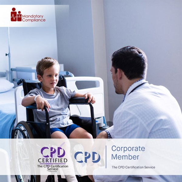 Cerebral Palsy Awareness – Level 2 – Online Training Course – CPDUK Accredited – Mandatory Compliance UK –