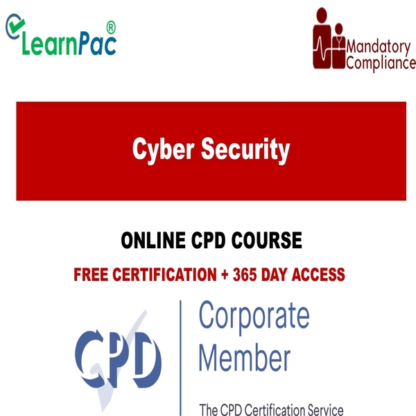 Cyber Security Online Training Course Cpduk Accredited