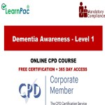 Dementia Awareness - Level 1 - Mandatory Training Group UK -