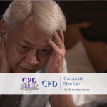 Dementia Awareness – Online Training Course – CPD Accredited – Mandatory Compliance UK –