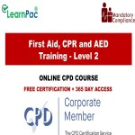 First Aid, CPR and AED Training - Level 2 - The Mandatory Training Group UK -