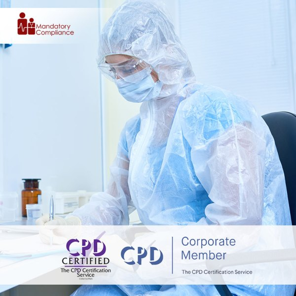 Infection Prevention and Control – Level 2 – Online Training Course – CPDUK Accredited – Mandatory Compliance UK –