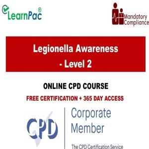 Legionella Awareness - Level 2 - Mandatory Training Group UK -