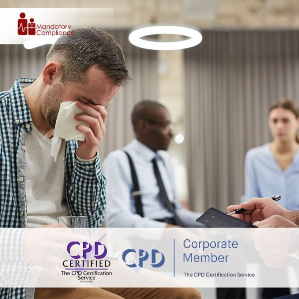 Mental Health Awareness – Level 1 – Online Training Course – CPDUK Accredited – Mandatory Compliance UK –