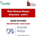 Motor Neurone Disease Awareness - Level 2 - The Mandatory Training Group UK -