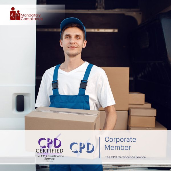 Moving and Handling of Objects – Level 2 – Online Training Course – CPDUK Accredited – Mandatory Compliance UK –