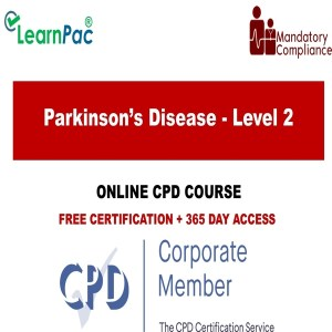 Parkinson's Disease - Level 2 - Mandatory Training Group UK -