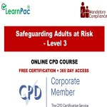 Safeguarding Adults at Risk - Level 3 - Online Training Course - The Mandatory Training Group UK -