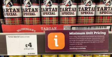 Scottish alcohol sales at lowest level in 25 years after price controls - The Mandatory Training Group UK -