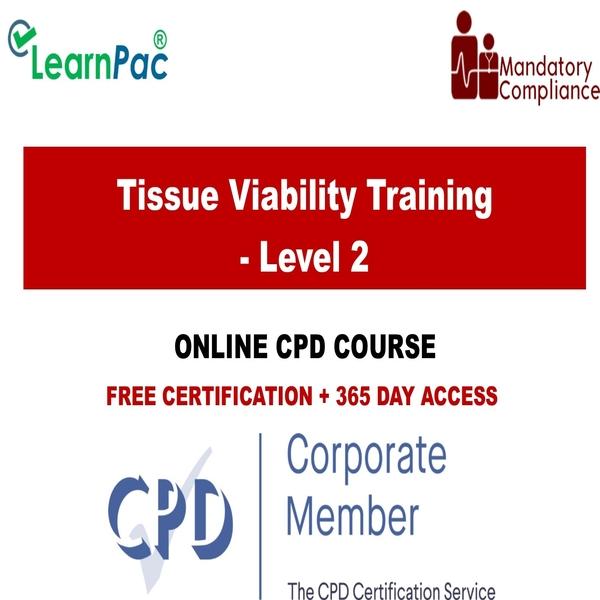 Tissue Viability – Level 2 – Mandatory Training Group UK –