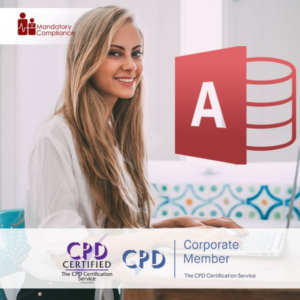 Access 2016 Essentials – Online Training Course – CPDUK Accredited – Mandatory Compliance UK –
