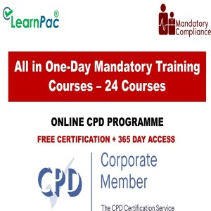 All in One-Day Mandatory Training Courses – 24 Online Courses - Mandatory Training Group UK -