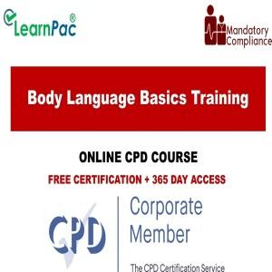 Body language basics training - Mandatory Training Group UK -