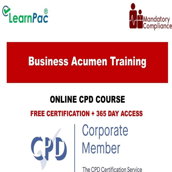 Business Acumen Training – Mandatory Training Group UK –