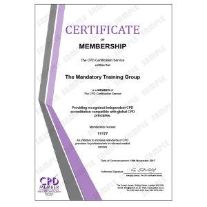 Business Ethics Training - E-Learning Course - CDPUK Accredited - Mandatory Compliance UK -