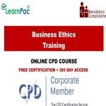 Business Ethics Training – Mandatory Training Group UK –