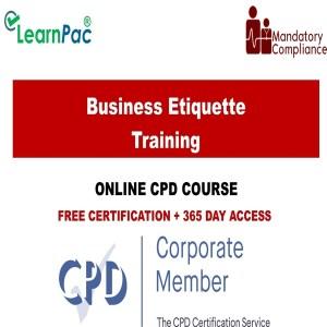 Business Etiquette Training - Mandatory Training Group UK -
