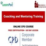 Coaching and Mentoring Training - Mandatory Training Group UK -