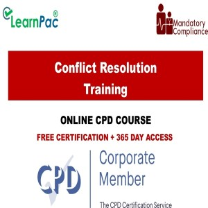 Conflict Resolution - Mandatory Training Group UK -
