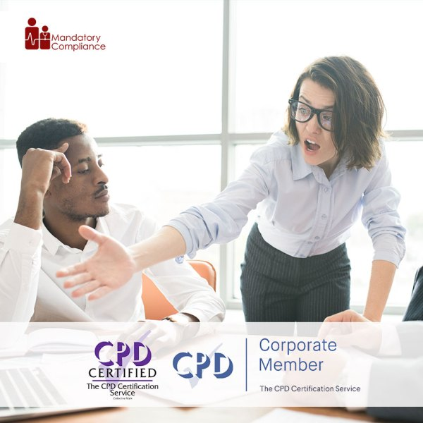 Conflict Resolution – Online Training Course – CPDUK Accredited – Mandatory Compliance UK –