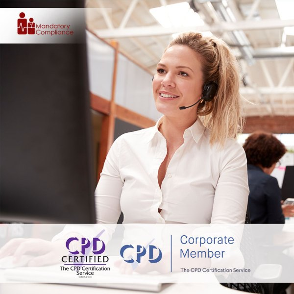 Contact Centre – Online Training Course – CPDUK Accredited – Mandatory Compliance UK –
