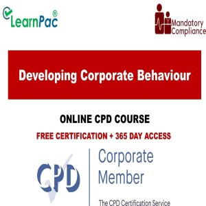 Developing Corporate Behaviour - Mandatory Training Group UK -