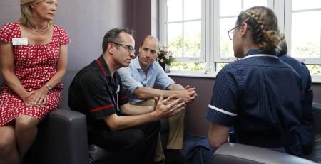 Duke of Cambridge discusses mental health at The Royal Marsden hospital - The Mandatory Training Group UK -