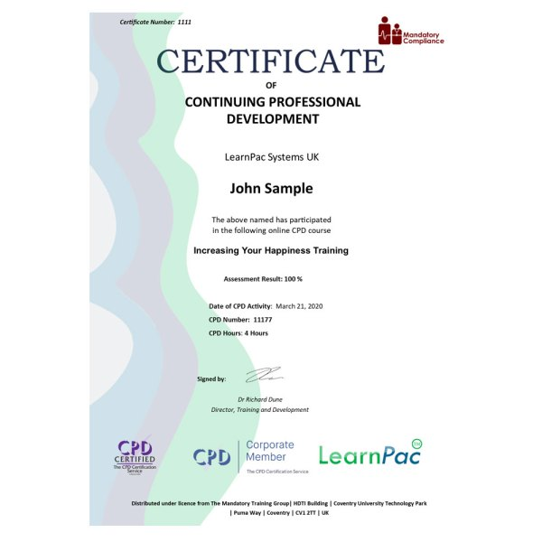 Emotional Intelligence Training – eLearning Course – CPD Certified – Mandatory Compliance UK –
