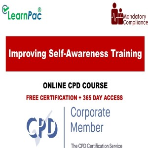 Improving Self-Awareness Training – Online Course – CPD Accredited - Mandatory Training Group UK -