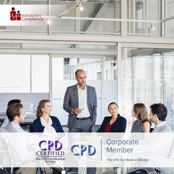 Manager Management Training – Online Training Course – CPD Accredited – Mandatory Compliance UK –
