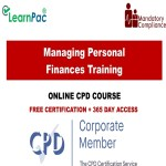 Managing Personal Finances Training - Mandatory Training Group UK -